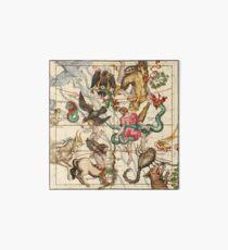 Hercules, Sagittarius, Delphinus, Scorpius, Caper, Lyra, Olor And Other Constellations Art Board