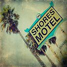 Shores Motel and Palms  by Honey Malek