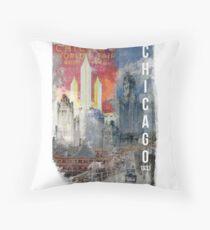 Chicago, 1933 Throw Pillow