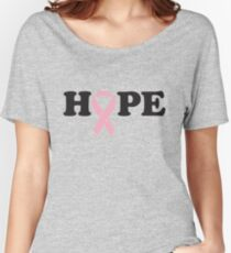 Hope. Breast Cancer Women's Relaxed Fit T-Shirt