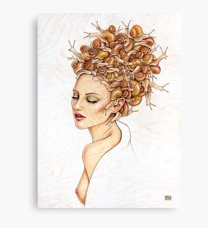 Snail Do  Canvas Print