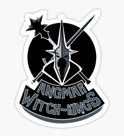 Angmar Witch-Kings Sticker