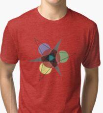 Star Pattern by Reggie Blanchard Tri-blend T-Shirt