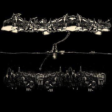 Bioshock - Rapture and Columbia by Ixva