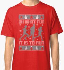 Ugly Christmas Running: T-Shirts   Redbubble