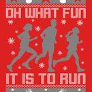 Fun To Run Ugly Christmas Tee by EthosWear