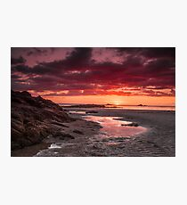 """Once Upon A Sunset"" Photographic Print"