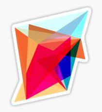 abstract geometric 2 Sticker