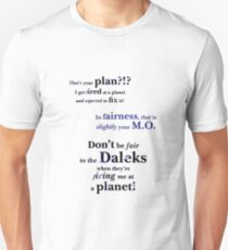 That's Your Plan?!! Unisex T-Shirt