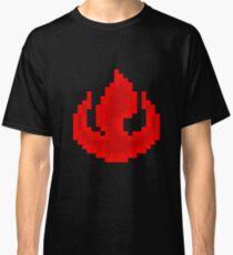 8bit Fire Nation Emblem 2 - 3nigma Classic T-Shirt