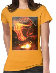 Man GENIE Womens Fitted T-Shirt