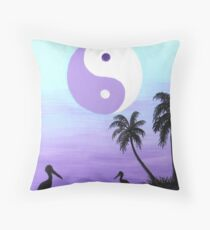 Pelicans Rest Throw Pillow