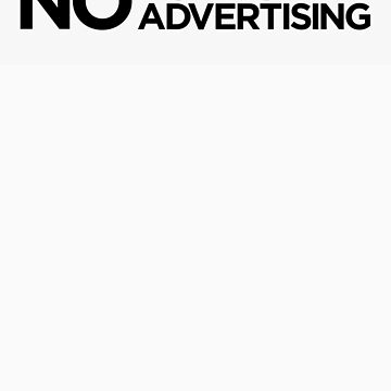 No Political Advertising Letterbox Sticker by RikkiB