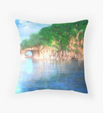 Elephant Hill, Guilin Throw Pillow