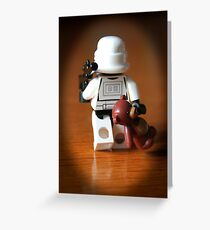 Teddy Trooper Greeting Card
