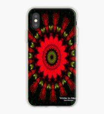 Mandala Spiral Notebook iPhone Case