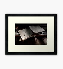 30.8.2013: X-Files Framed Print