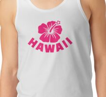 Hawaii hibiscus Tank Top