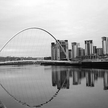 Millenium Bridge  by LittleRedTrike