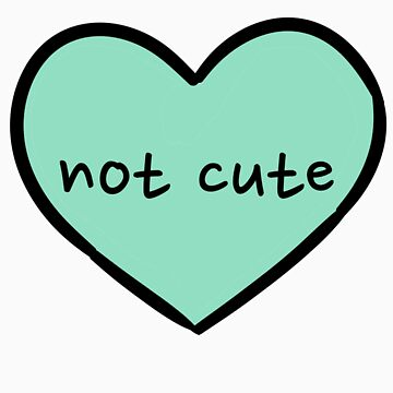 Sassy Heart–not cute–blue-green by salvva