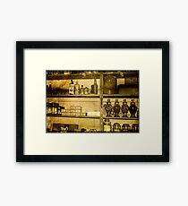 No Empty Shelves Framed Print