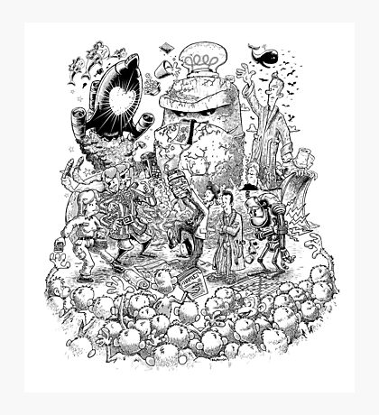 Hitch Hiker's guide to the Galaxy Photographic Print