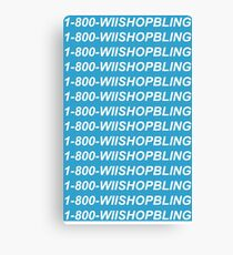 Wii Shop Bling Canvas Print