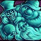 Haunted Mansion - Hitchhiking Ghosts by Kristofer Floyd