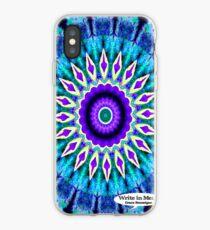 Blue and Purple Mandala Journal iPhone Case