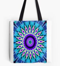 Blue and Purple Mandala Journal Tote Bag
