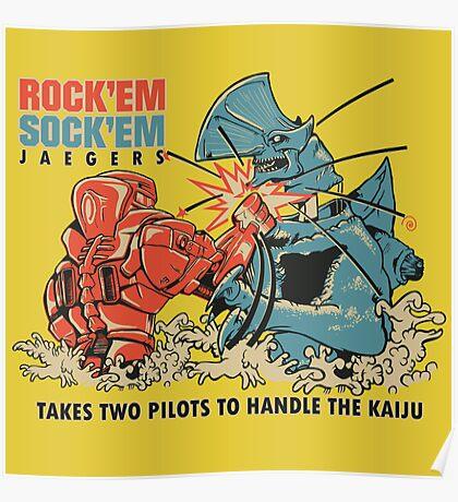 ROCK 'EM, SOCK 'EM JAEGERS Poster