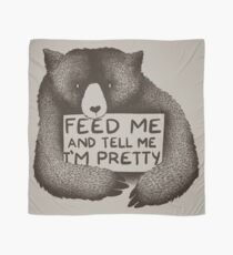 Feed Me and Tell Me I'm Pretty Scarf