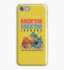ROCK 'EM, SOCK 'EM JAEGERS iPhone Case/Skin