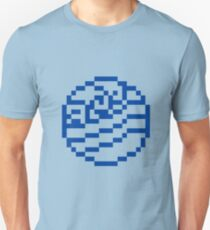 8bit Water Tribe Emblem 2 - 3nigma Unisex T-Shirt