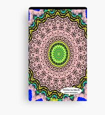 Pink Mandala Notebook and Journal Canvas Print