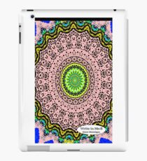 Pink Mandala Notebook and Journal iPad Case/Skin