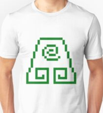 8bit Earth Kingdom Emblem 2 - 3nigma Unisex T-Shirt