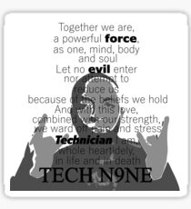 Tech N9ne  - The Pledge Sticker