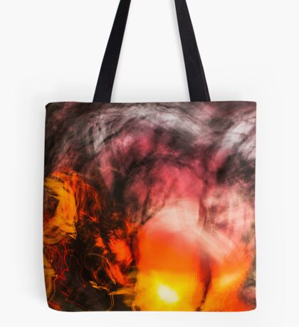 Walking Home From Work One August Evening Tote Bag
