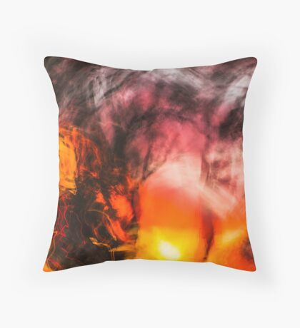Walking Home From Work One August Evening Throw Pillow