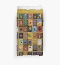 Breaking Bad - 62 posters yellow Duvet Cover