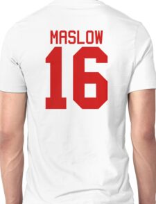 James Maslow jersey - red text Unisex T-Shirt