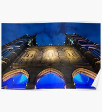 Notre Dame in different angle! Poster