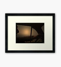 Driving Framed Print