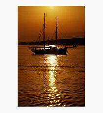 Schooner Gold Photographic Print