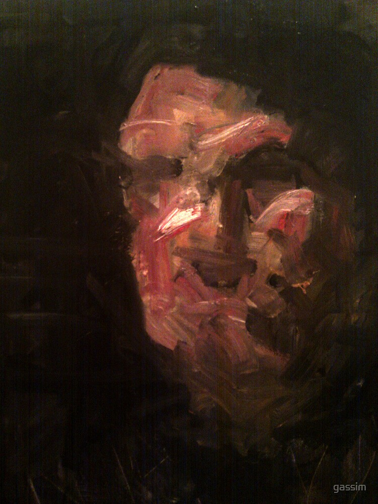 a mans head by gassim