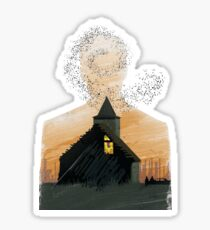 True Detective - Seeing Things Sticker