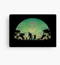 They're Coming! Canvas Print