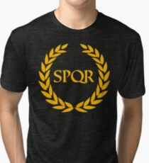Camp Jupiter - SPQR Tri-blend T-Shirt