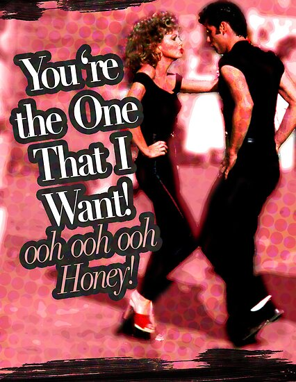 Grease You Re The One That I Want Hq Lyrics Youtube